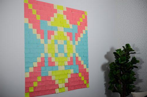 Sticky Note Mosaic2222